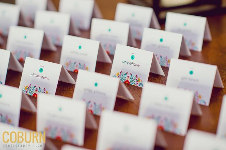 Fiesta Rehearsal Dinner Escort Cards #escortcards #fiestaescortcards #rehearsaldinner #alweweddings Photography - Coburn Photography // Planning - Andrea Leslie Weddings & Events // Linens - La Tavola @latavola