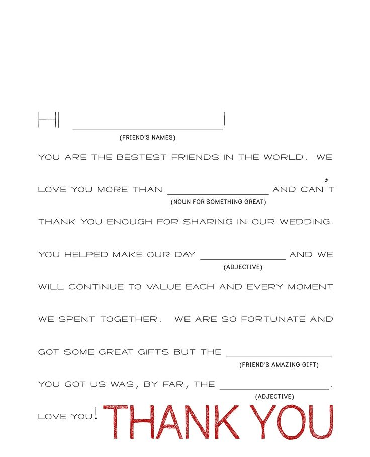 Thank You Letter For Wedding Gift: Best 25+ Thank You Card Template Ideas On Pinterest