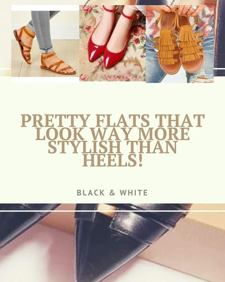 No matter how much we love heels, we keep going back to our trusty flats because of their ease and comfort. We have found these amazing...