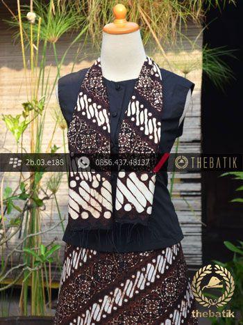 Kain dan Selendang Batik Klasik Motif Klithik Nitik | Indonesian Batik Scarves Wholesale http://thebatik.co.id/syal-selendang-batik/
