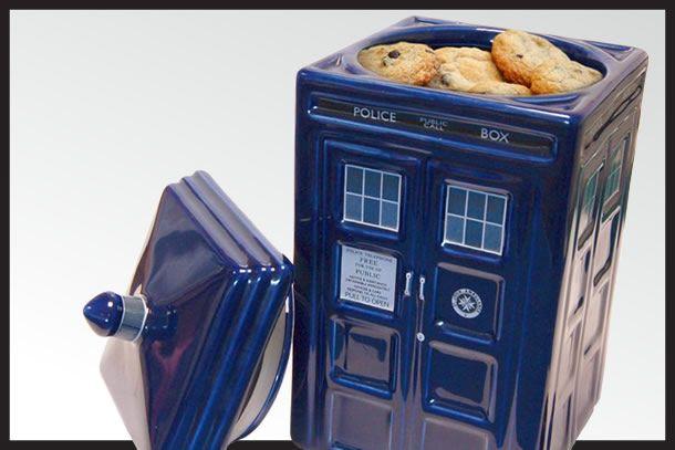 La biscottiera TARDIS