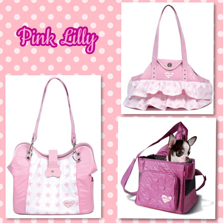 Sac de transport Pink Lilly www.universdogs.com