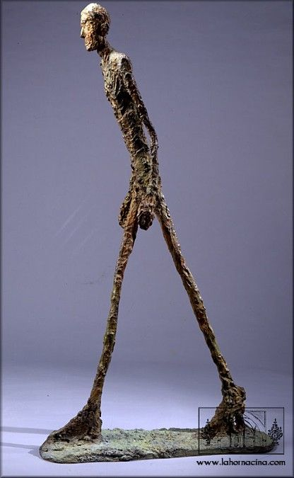 Alberto Giacometti, this was recently auctioned for $65 million