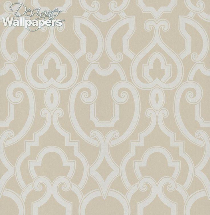 Royal is an elaborate large scale trellis design with long curves that arch and overlap to create an illusion of depth within its regal pattern