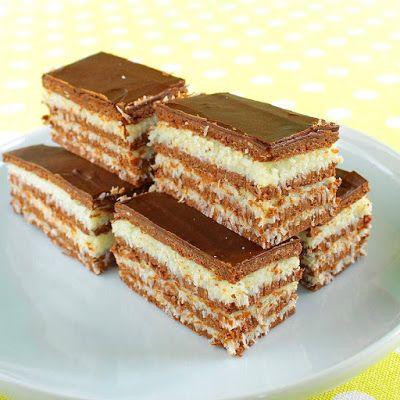 Receptek, és hasznos cikkek oldala: Zebra kocka sütés nélkül...