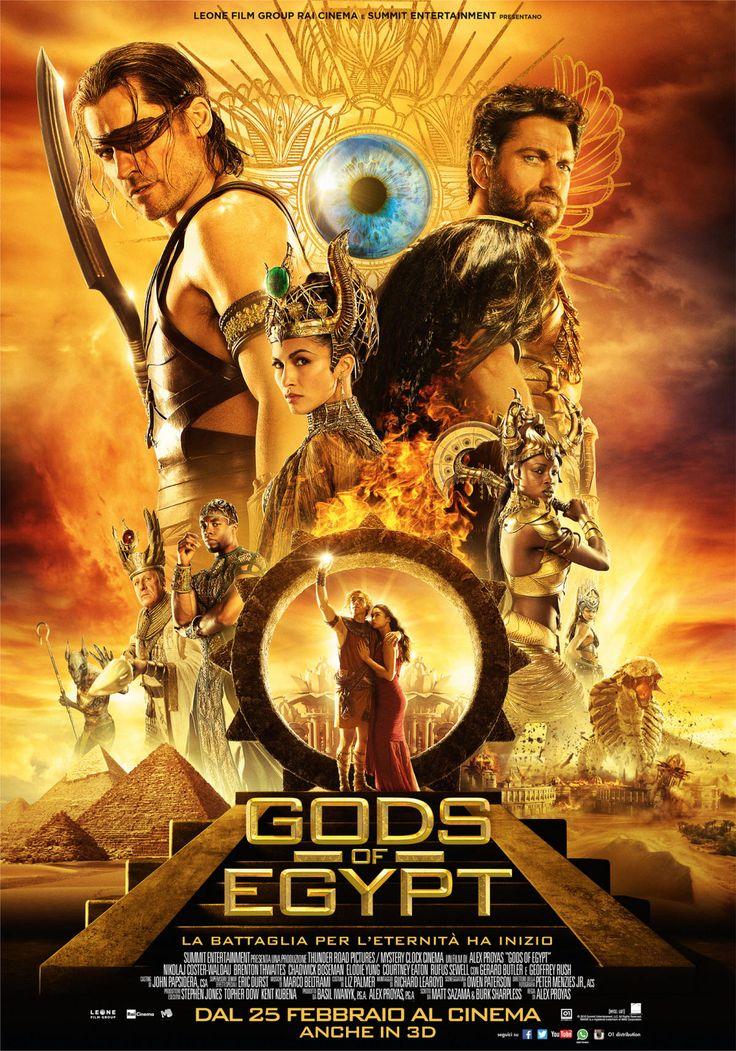 Gods of Egypt, il film di Alex Proyas con Gerard Butler, dal 25 febbraio al cinema.