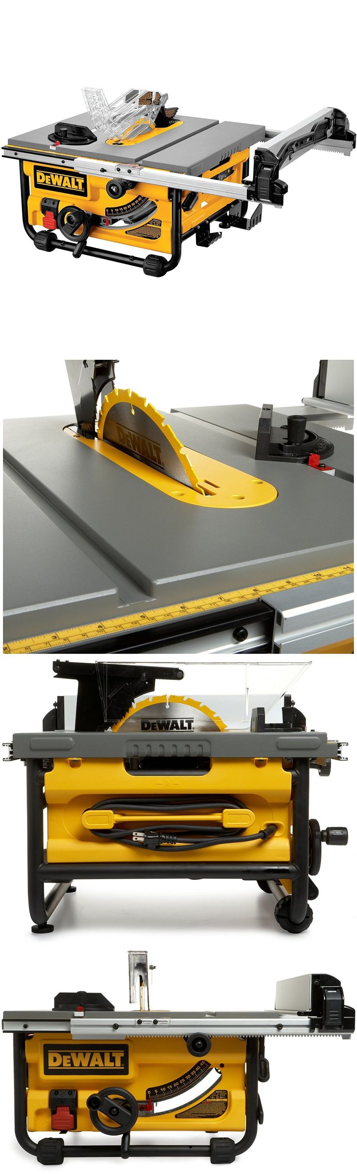 Table Saws 122835: Dewalt Dw745 10-Inch Compact Job-Site Table Saw With 20-Inch Max Rip -> BUY IT NOW ONLY: $293.07 on eBay!