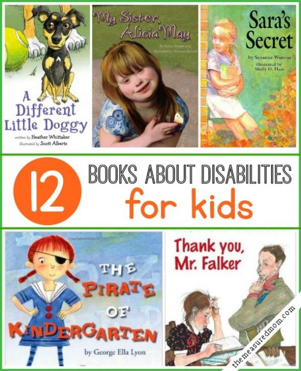These books about disabilities are great for helping children understand, respect, and appreciate people who are different from them.