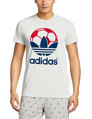 adidas T-Shirt Country - Camiseta de running para hombre, color blanco, talla L #regalo #arte #geek #camiseta