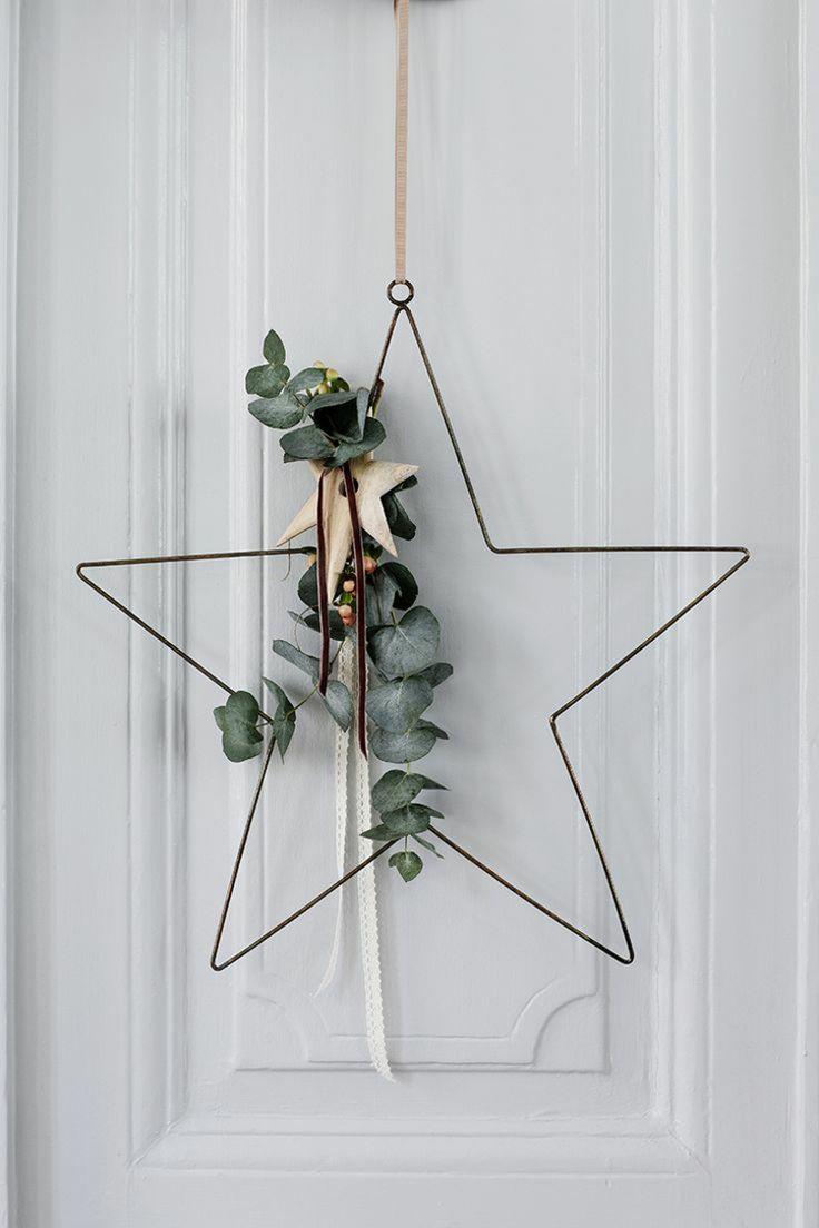 So you can make a Christmas wreath yourself - 50 ideas