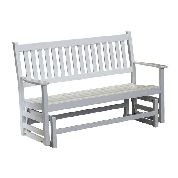 Hinkle Chair Company Plantation Porch Glider Bench & Reviews | Wayfair