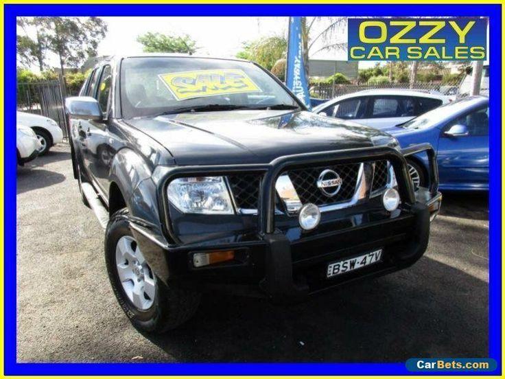 2006 Nissan Navara D40 ST-X (4x4) Grey Manual 6sp M Dual Cab Pick-up #nissan #navara #forsale #australia