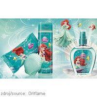 #Oriflame kolekce #Disney pro děti - #Ariel  TOALETNÍ VODA DISNEY #PRINCESS je něžná vůně pro malé holčičky s delikátními tóny vody a svěžího melounu. www.orif24.cz