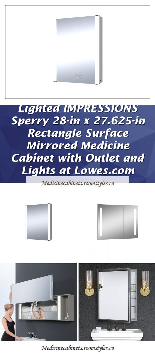 Ltl Home Products Royale 31 5 Inches X 27 625 Inches Illuminated Prints Frameless Led Mirror In 2020 Medicine Cabinet Mirror Medicine Cabinet Shelves Medicine Cabinet