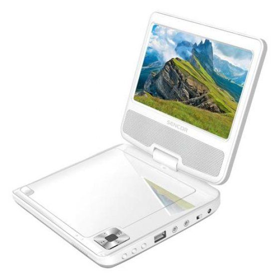 Sencor SPV 2721 W hordozható DVD lejátszó