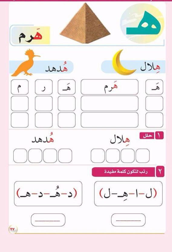 how to learn arabic alphabet