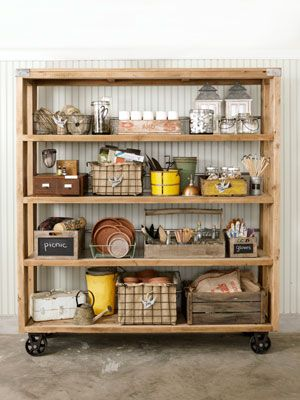Love this storage unit and all the organizational tools!