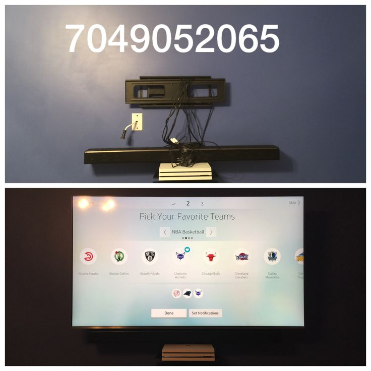 "65"" Samsung SUHD on full motion wall mount with One Connect, Samsung Soundbar, PS4, DirecTV genie, Samsung UHD Bluray and floating wall shelves TV Mounting Service 3-9-2018 https://tvmountcharlotte.com #tvmountcharlotte"