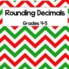 Fun and festive holiday task cards to review rounding decimals to the nearest hundredth, tenth, and whole number. This file contains 16 task cards,...