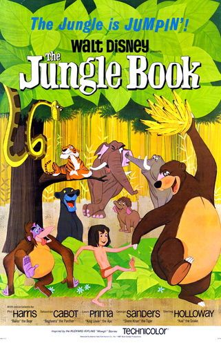 Книга джунглей (мультфильм)   Disney Wiki   FANDOM powered by Wikia