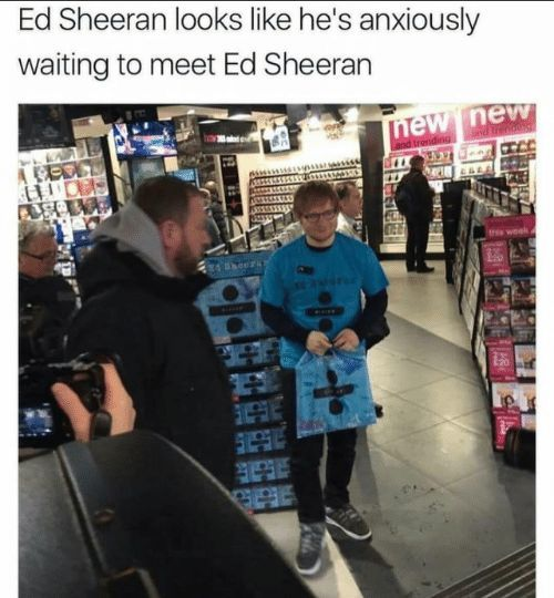 17 Lächerliche Ed Sheeran Memes, damit Sie laut lachen – #damit #Ed #funny #Lac…