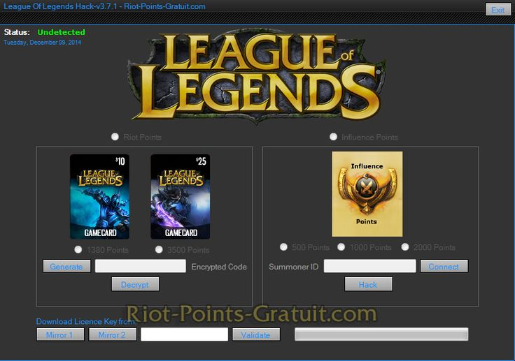 Riot Points Grauit - League Of Legends Riot Points Gratuit
