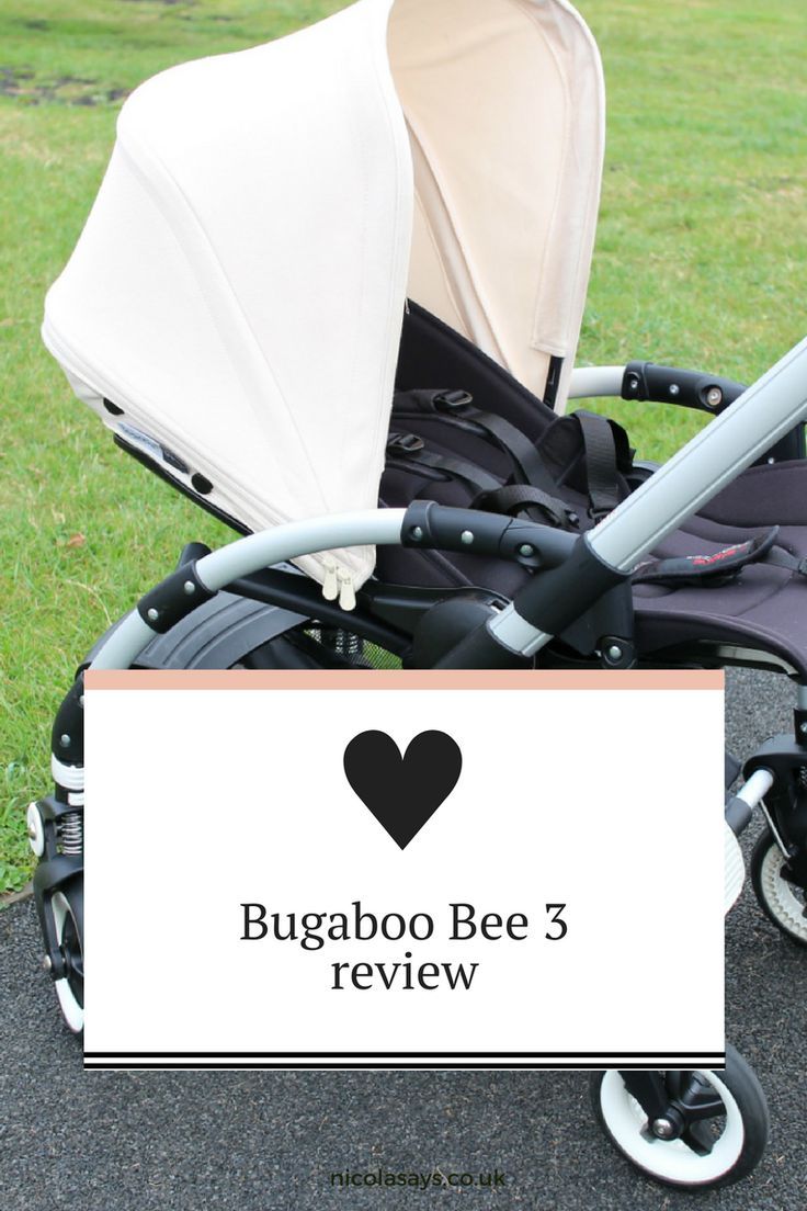 Bugaboo Bee 3 Review ⋆ Read my review of the Bee 3 by Bugaboo, a city pushchair that's perfect for families of any shape or size.