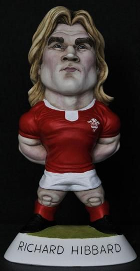 "9"" Richard Hibbard Grogg - Wales"