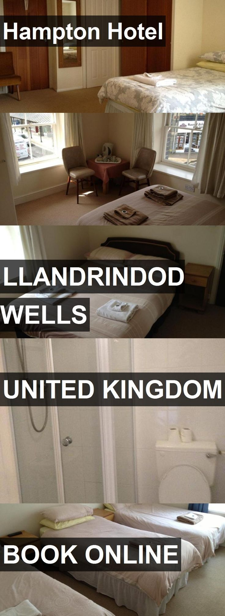 Hotel Hampton Hotel in Llandrindod Wells, United Kingdom. For more information, photos, reviews and best prices please follow the link. #UnitedKingdom #LlandrindodWells #HamptonHotel #hotel #travel #vacation