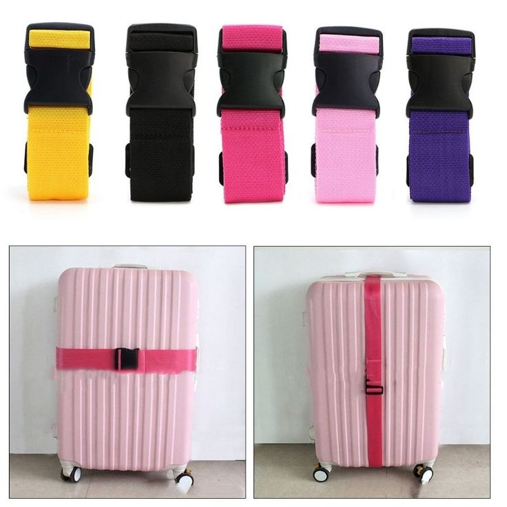 Adjustable Bag Suitcase Luggage Straps Travel Buckle Baggage Tie Down Belt Lock in Tickets, Travel, Travel Accessories, Luggage Tags | eBay!