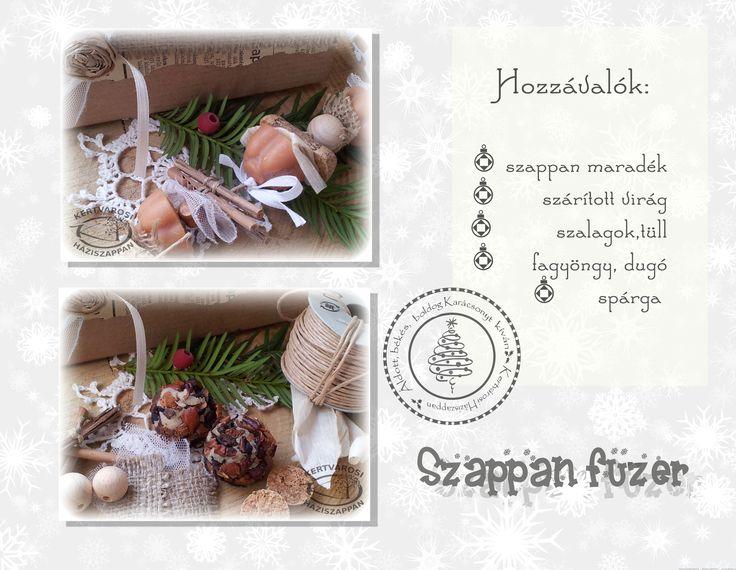 Hand-made karácsonyi ajándékok, vegyszermentesen - Kertvárosi Háziszappan