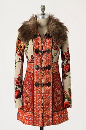 Karelia Coat from Anthropologie. No longer available :( #anthropologie #coat
