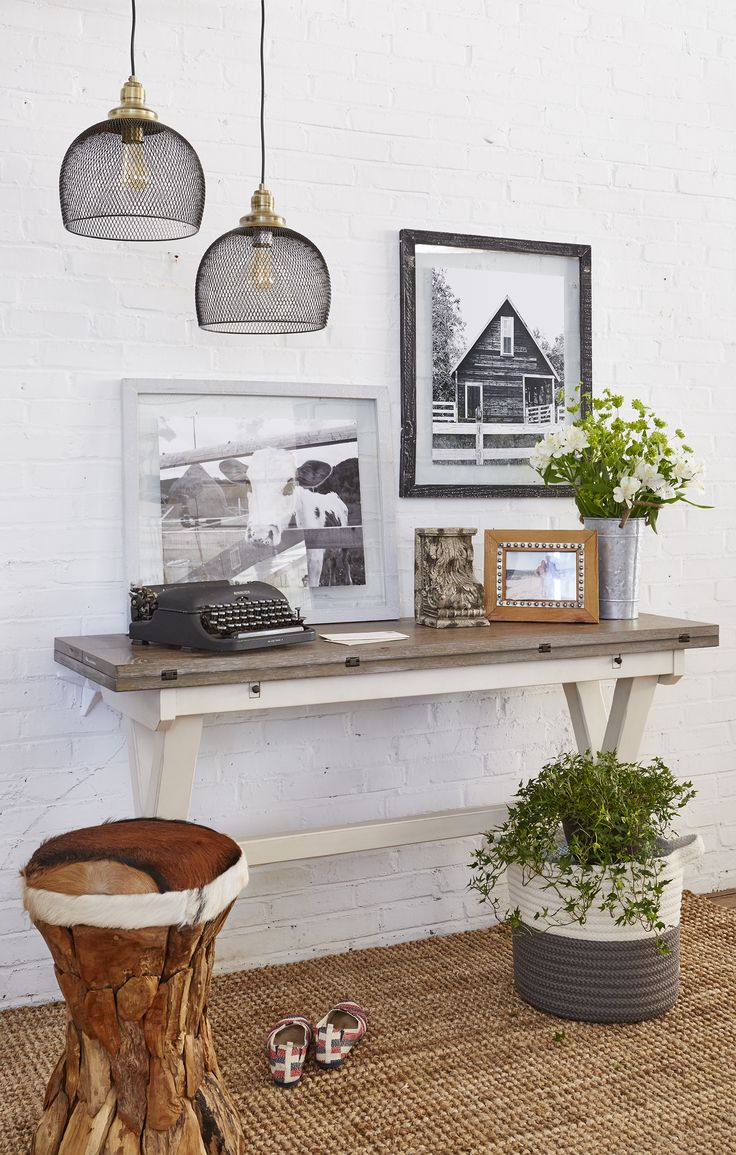 Farmhouse Foyer Zara : Modern farmhouse entryway how to get the look