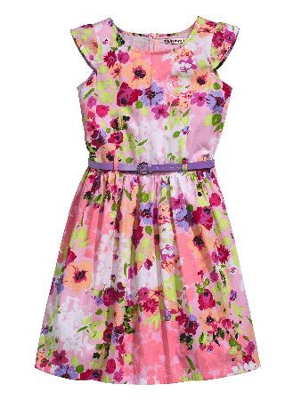 Freespirit Floral Prom Dress And Belt This pretty prom dress from Freespirit features a floral pastel print so its perfect for summertime parties and BBQs Made from cotton the dress has cute capped sleeves to keep her feeling cool in warm http://www.comparestoreprices.co.uk/baby-clothing/freespirit-floral-prom-dress-and-belt.asp