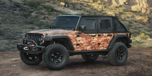 Jeep Wrangler Trailstorm