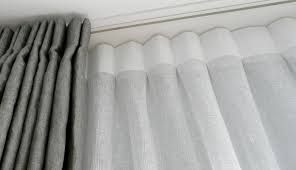 Image result for double curtain track