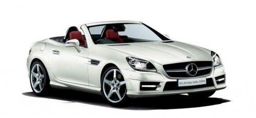 Nur für Japan: Mercedes SLK 200 Radar Safety Sondermodell