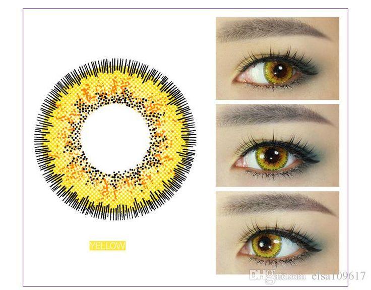 Цветные контактные линзы для астигматизма