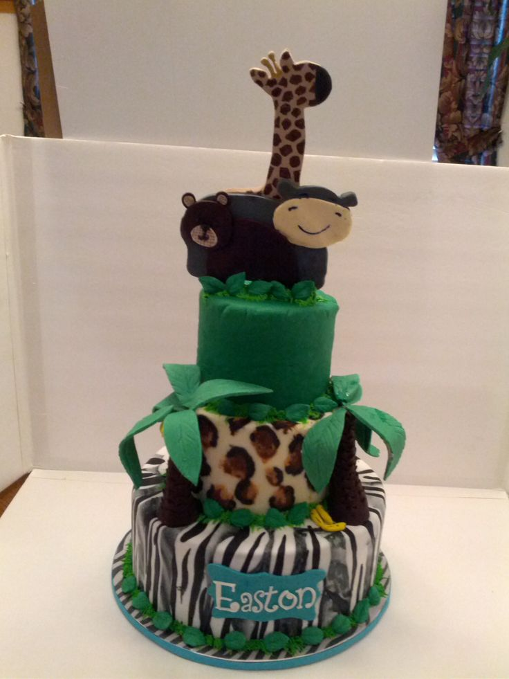 Safari Baby Shower cake: Safari Baby Shower, Cakes S, Baby Shower Cakes, Cakes Ideas, Baby Fever, Babyshower Ideas, Amy Baby, Brenda Baby, Candice Baby