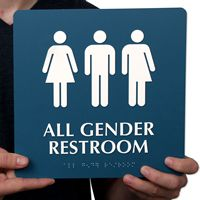 All Gender Restroom Sign