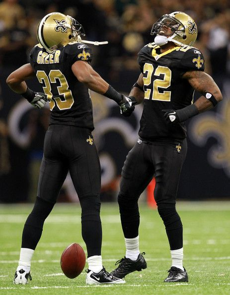 Tracy Porter and Jabari Greer - Wild Card Playoffs - Detroit Lions v New Orleans Saints