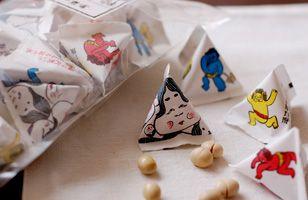 """京都 豆富本舗 「三角袋福豆(節分豆)」/ Tofu Honpo, Kyoto - """"Setsubun beans"""""""