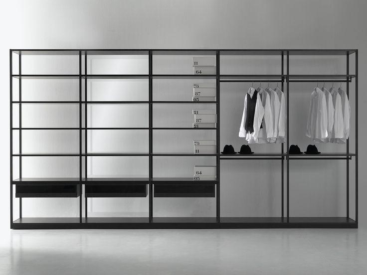 ウォークインクローゼット STORAGE Storage コレクション by Porro | デザイン: Piero Lissoni, Centro Ricerche Porro