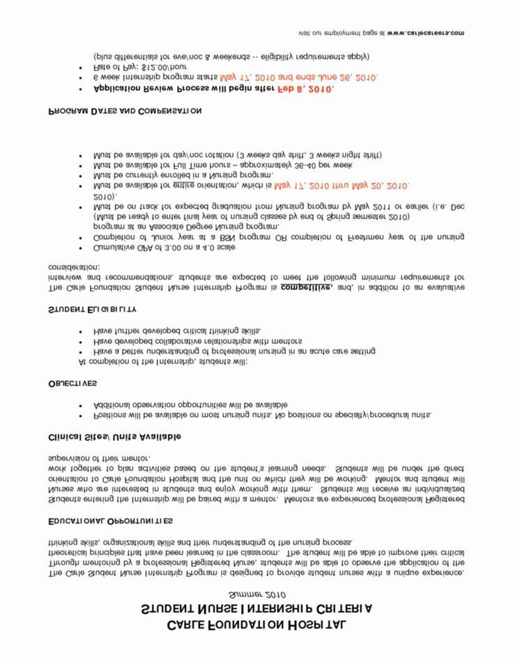 New grad nurse resume new new grad rn resume template