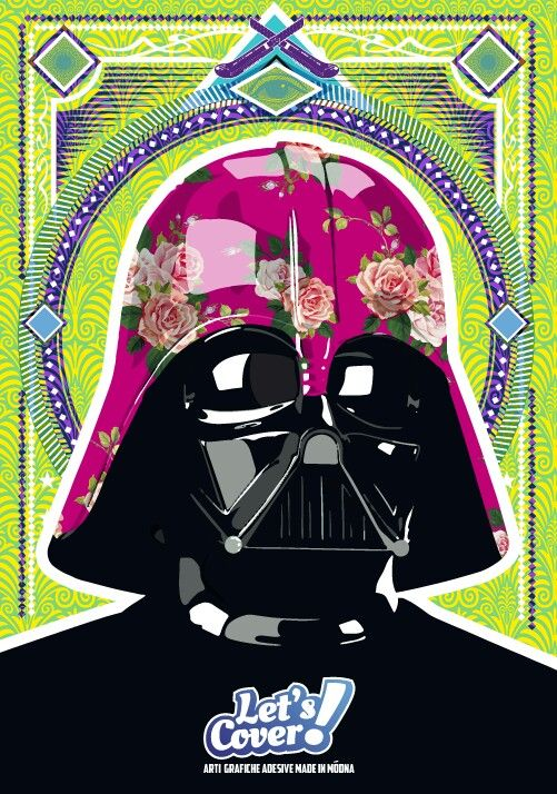 Darth Vader choose Let's Cover to wrap his helmet