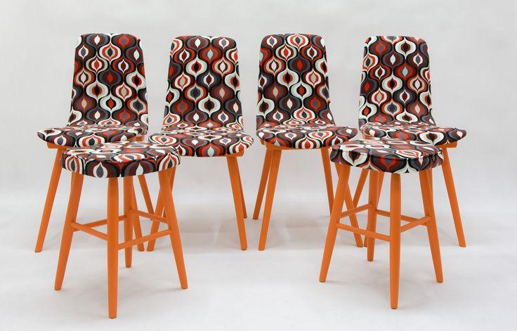 """Krzesła """"Pozytyw"""" http://polish-design.co.uk/portfolio/krzesla-pozytyw/"""