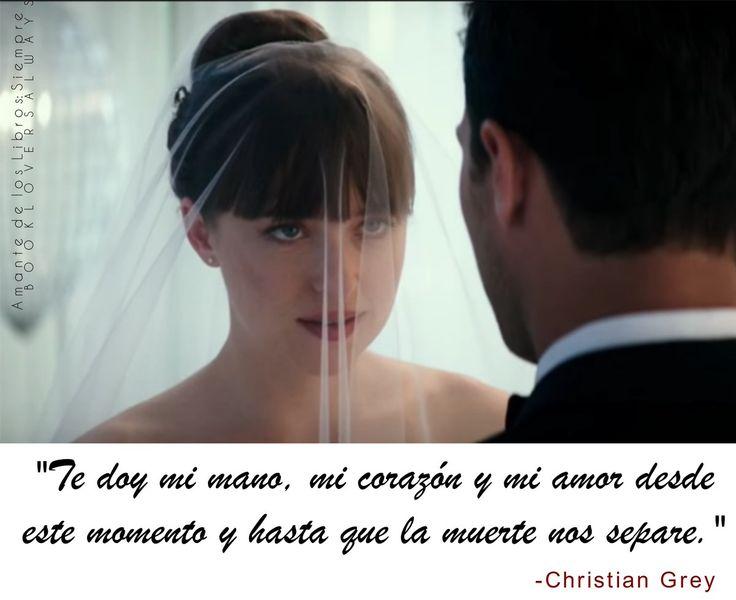 Feliz 6to aniversario al Sr. & Sra. Grey!   #ChristianGrey ❤️ #AnastasiaGrey  #FiftyShadesFreed