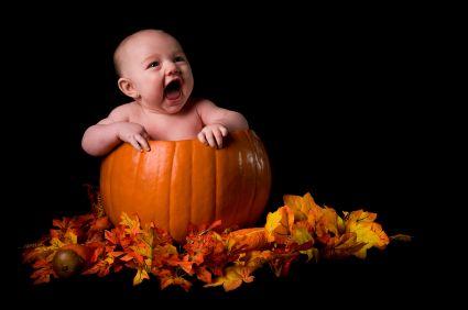 Una gran idea para una foto tierna para Halloween