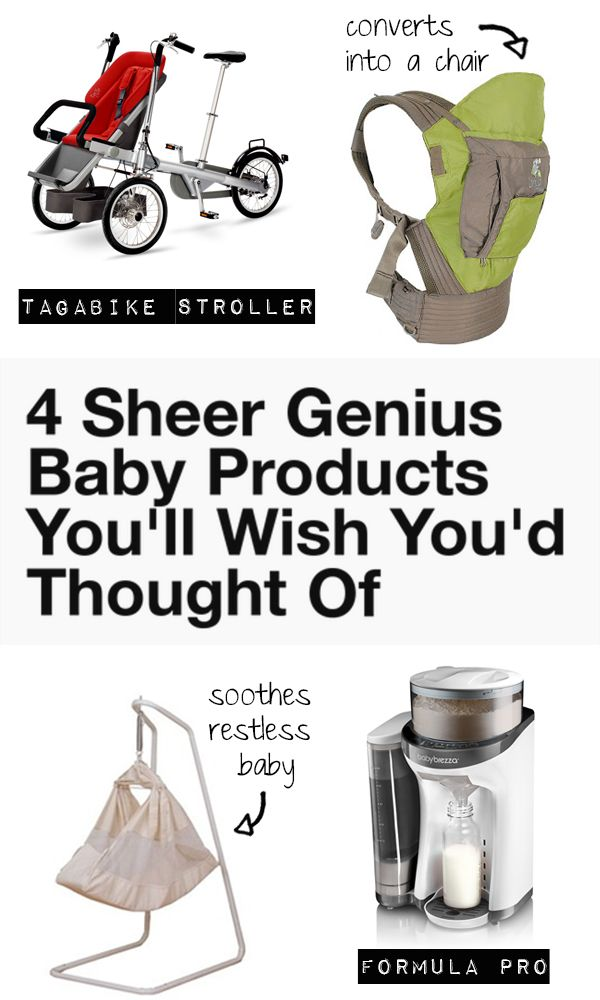 4 Sheer Genius Baby Products You'll Wish You'd Thought Of