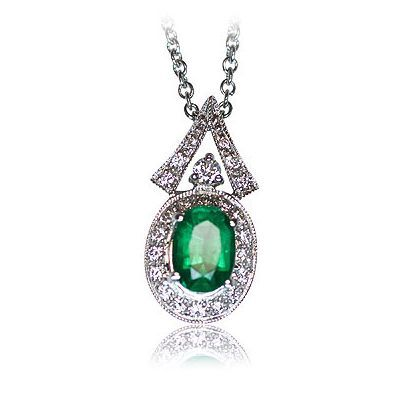 Check out another beautiful color gemstone necklace - Parris Jewelers, Hattiesburg, MS #jewelry